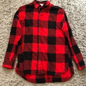 Old Navy Plaid Button Down